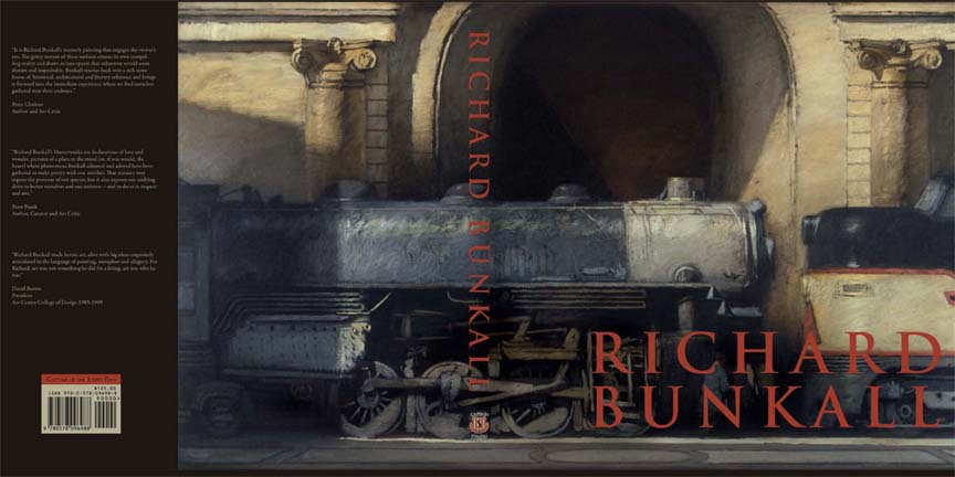 """Richard Bunkall"" Book Jacket"