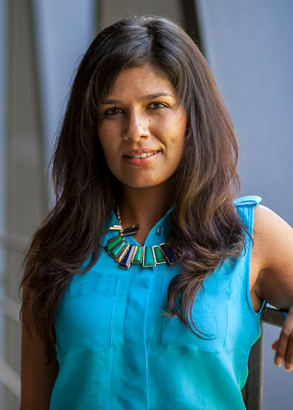Art Center's new Director of Counseling and Wellness Services, Darshana Lele, Ph.D.  photo by Chuck Spangler