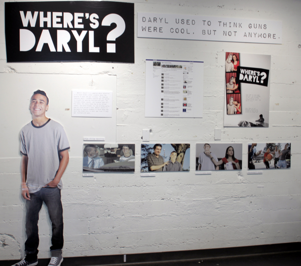 """Where's Daryl?"" includes YouTube videos, posters and Facebook pages"