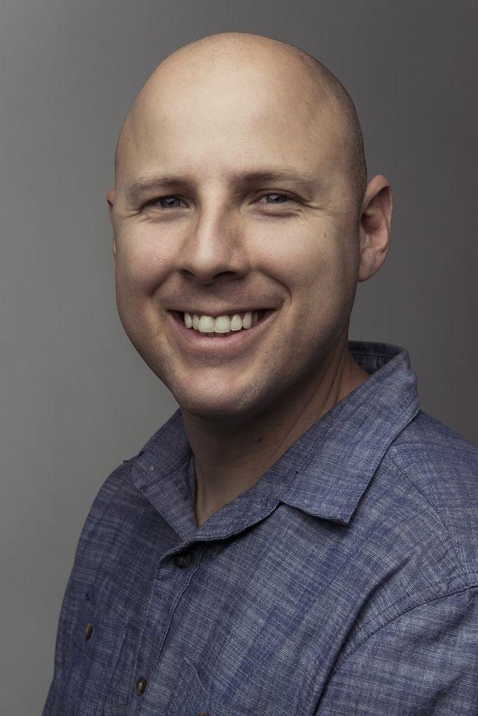 Product Design graduate Geoff Ledford.