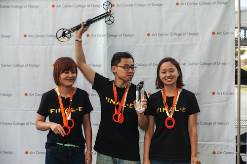 Formula-E Best in Show winners, from Beijing University of Technology
