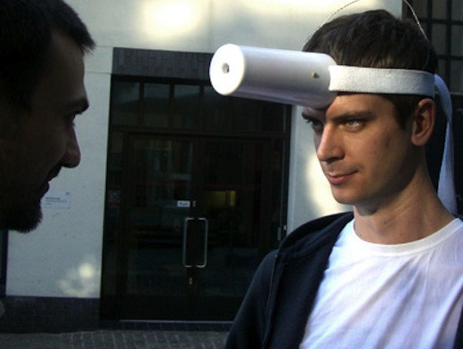 """Brainwave Canon"" (2011), an earlier project by visiting researcher Sitraka Rakotononiaina."