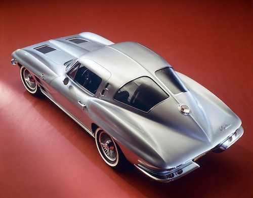 The 1963 Sting Ray sprung from the mind of Peter Brock.