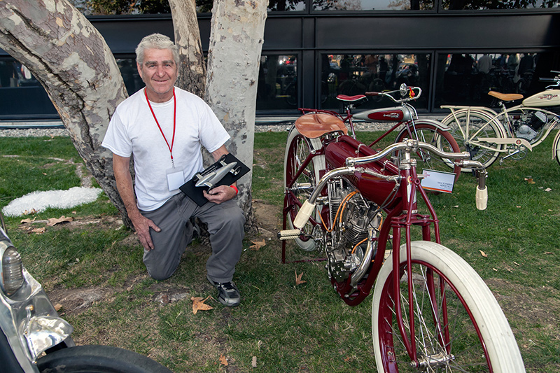 2-Wheel Innovation Award: Larry Freese 1912 Indian board track racer