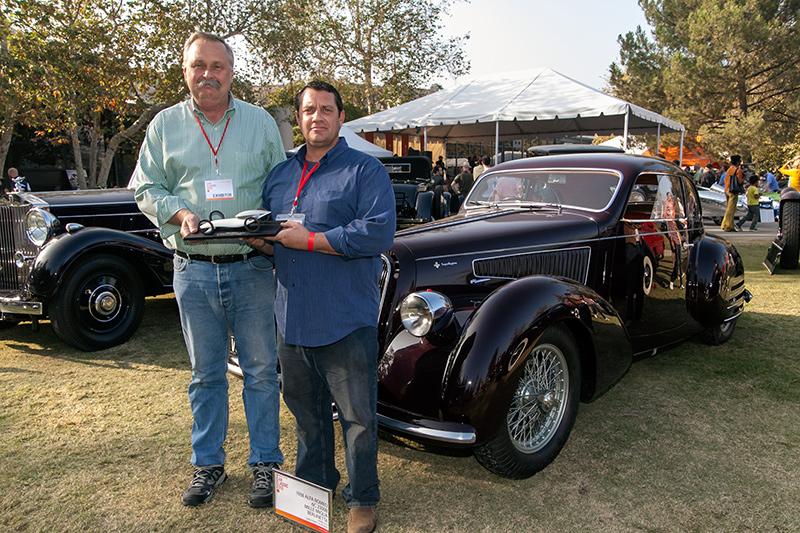 Classic Beauty Award: Barry Hon's 1938 Alfa Romeo 6C2300B Mille Miglia