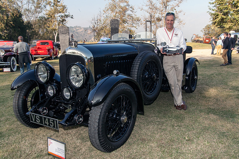 Designers Choice Award: Bruce Meyer's 1929 Bentley Tourer