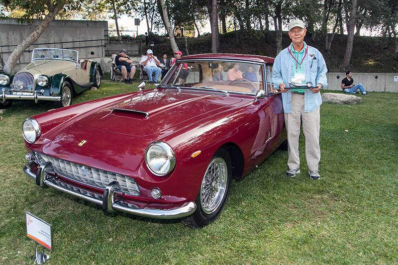Designers Choice Award: Paul Colony 1960 Ferrari 250 Pinanfarina Coupe