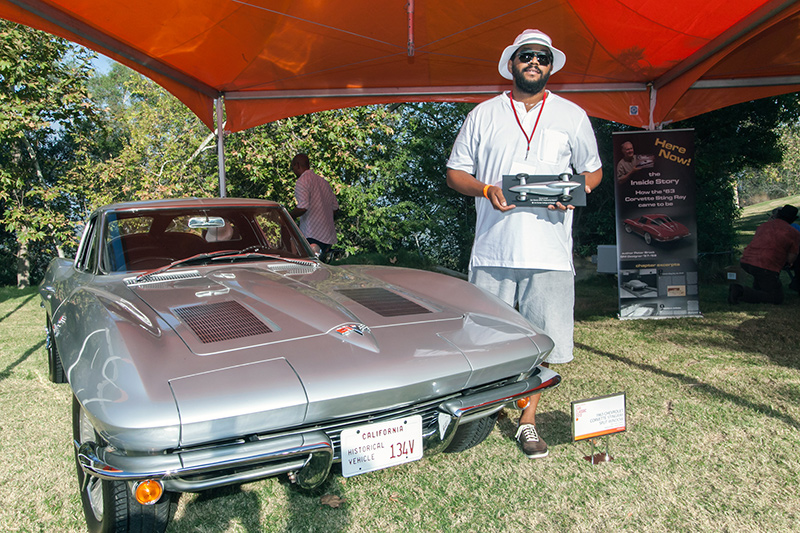Sport & GT Award: Bill Galloway's 196 Chevrolet Corvette Split Window Stingray