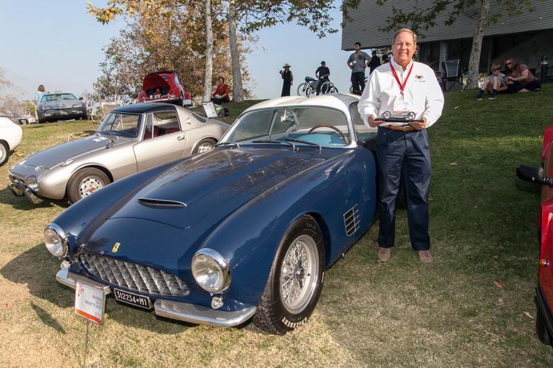 Sport & GT Award: David Sydorick's 1956 Ferrari 250 GTZ Berlinetta Zaga