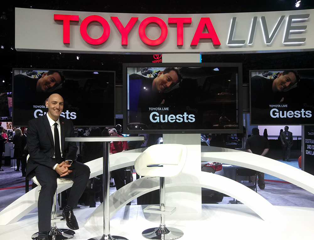 Stuart Fingerhut at Toyota Live