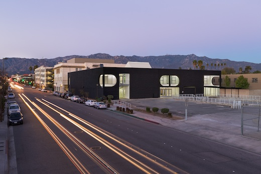 The 870 building at sunrise. Photo: Darin Johnstone Architects