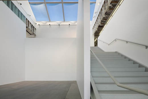 The atrium gallery at the 870 building. Photo: Darin Johnstone Architects