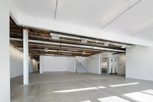 Entering the 870 building. Photo: Darin Johnstone Architects