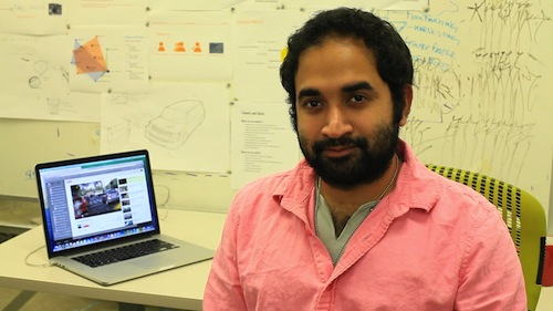 Graduate Transportation Design student, Nish Kamath joins Art Center's Myspace project