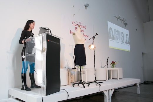 Designer, technologist and maker Meg Grant talks about her Solar Fiber project at Connected Bodies