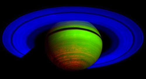 Cassini's ringed target: Saturn.