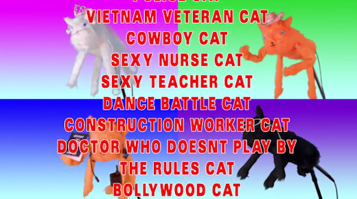 """Still from Jack-Anthony Collier's and Melissa Thomas' """"CATBOOM."""""""