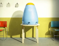 Oaks helped design Papa, a communal cistern aimed to address local needs for sustainable communal access to clean water