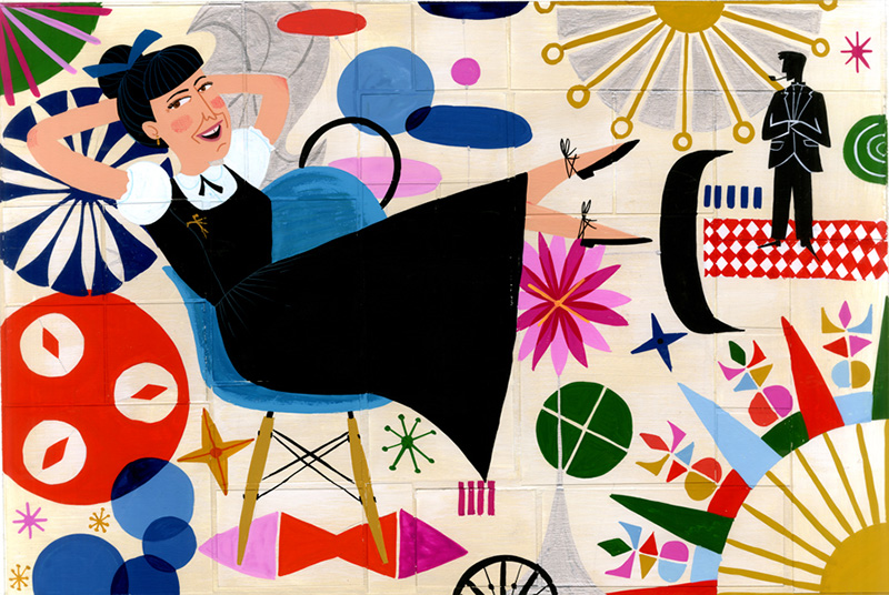 Ray Eames by Ellen Surrey