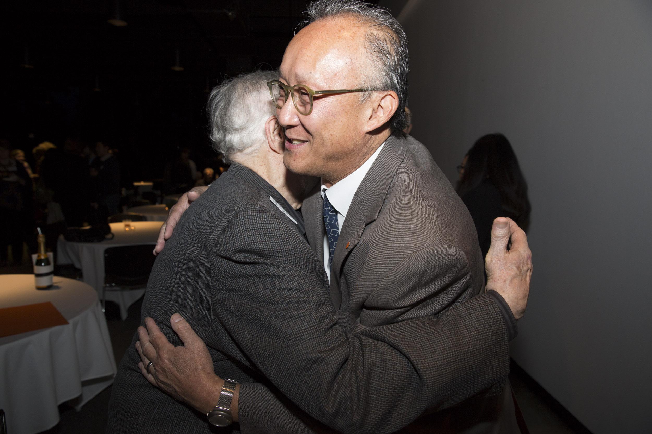 Stan Kong hug fest