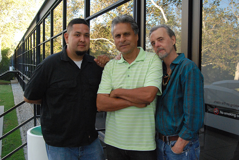 Jaime Zacarias, Gilbert Ortiz and Jay Michael Walker