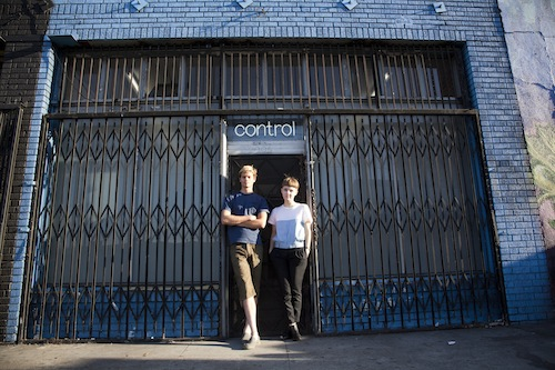 Fine Art alumni William Kaminski and Evelena Ruether, founders of Control Room gallery in downtown L.A