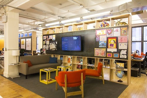 DoonorsChoose.org offices after Eight Inc. redesign