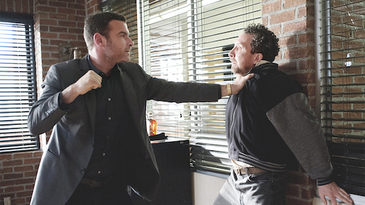 "A scene from Showtime's hard-hitting drama ""Ray Donovan."""