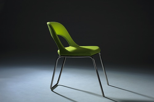 Austin Yang's Green Chair won the Editor's Award for seating at ICFF 2014