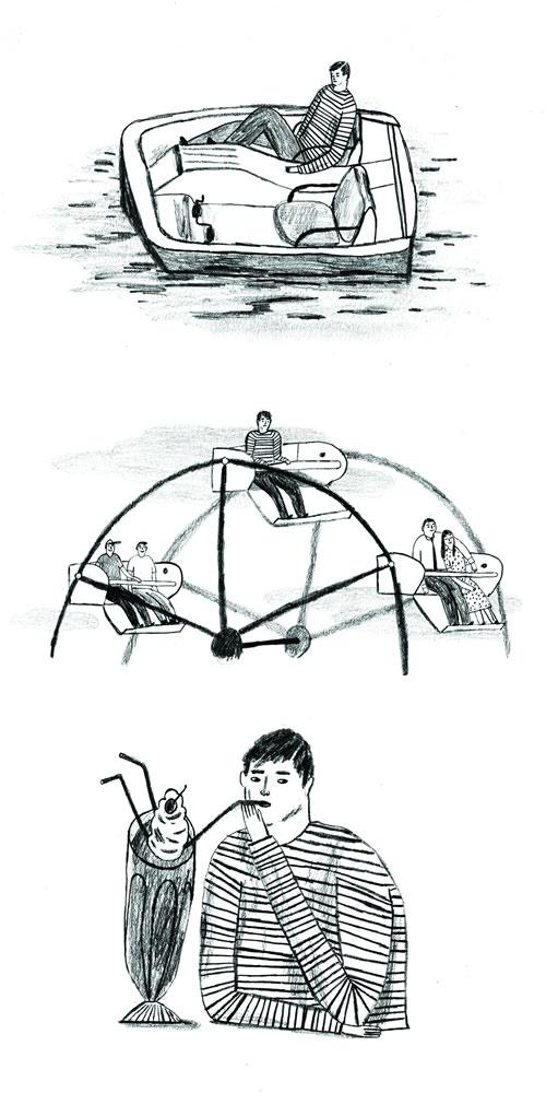 Loneliness by Ariel Lee.