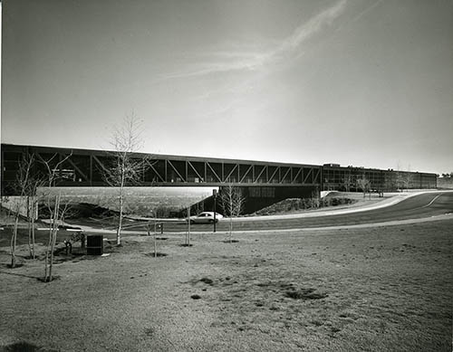Hillside Campus in 1978. Image courtesy of College Archives.