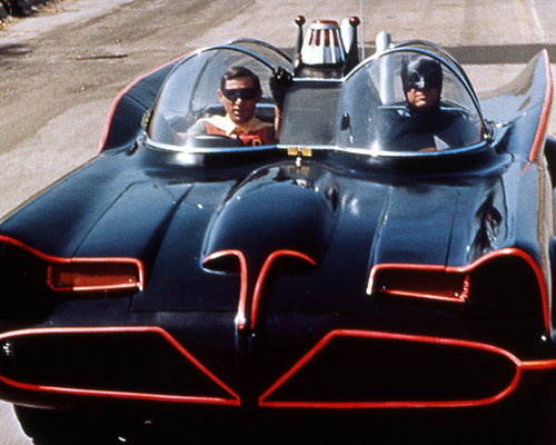1966 Batman TV Series Batmobile designed by George Barris