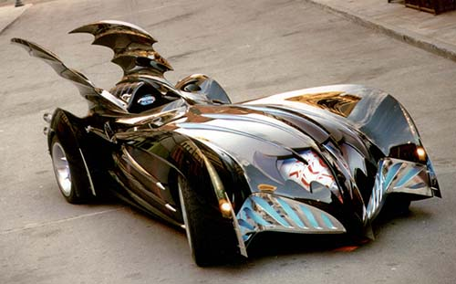Batmobile from 1997 Batman and Robin film, designed by Harald Belker