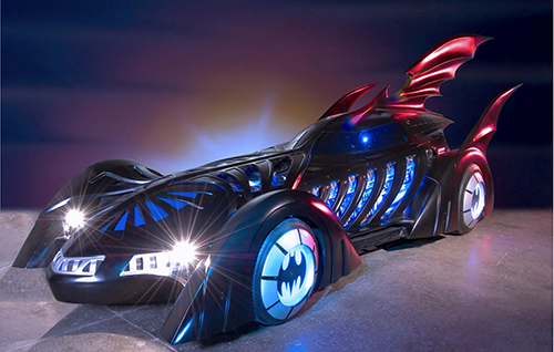 Batman Forever Batmobile designed by Tim Flattery
