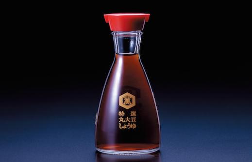 The Kikkoman soy sauce dispenser--just one of Kenji Ekuan's iconic designs.