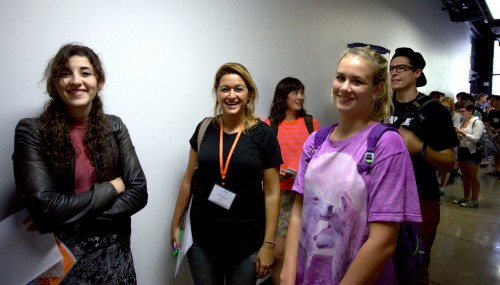 Incoming students during Fall 2014 Orientation Week.