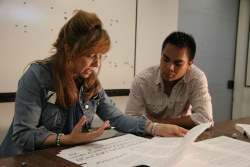 Leah_Hoffmitz_with-student-Copyright-Steven-A-Heller-Art-Center-College-of-Design