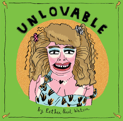 Behold the cover of Esther Pearl Watson's teen angst graphic novel