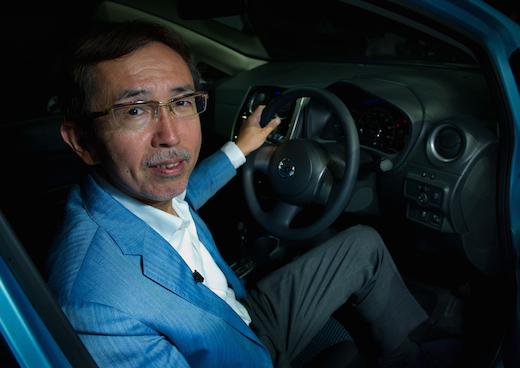 Nissan's senior vice president and chief creative officer Shiro Nakamura (BS 81). Photo: Nissan