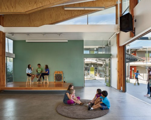The Sequoyah School expansion, designed by Fung+Blatt and featured in Architectural Record. View full slideshow.