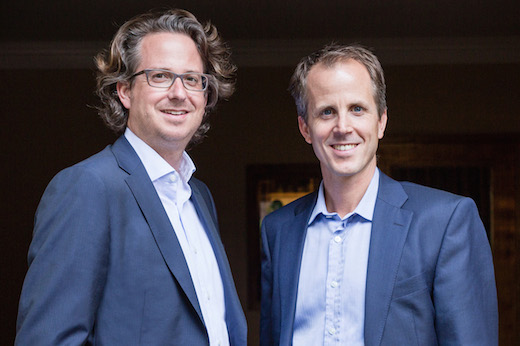 Sennheiser CEO's Daniel Sennheiser (left) and Dr. Andreas Sennheiser.