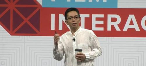 John Maeda delivers the Design in Tech Report at SXSW Interactive 2015