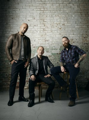 Common, Nolen Niu, Brandon Gore. Image courtesy Spike TV.