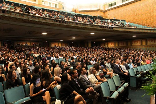 Spring 2015 Graduation Pasadena Civic Auditorium. Photo: John Dlugolecki