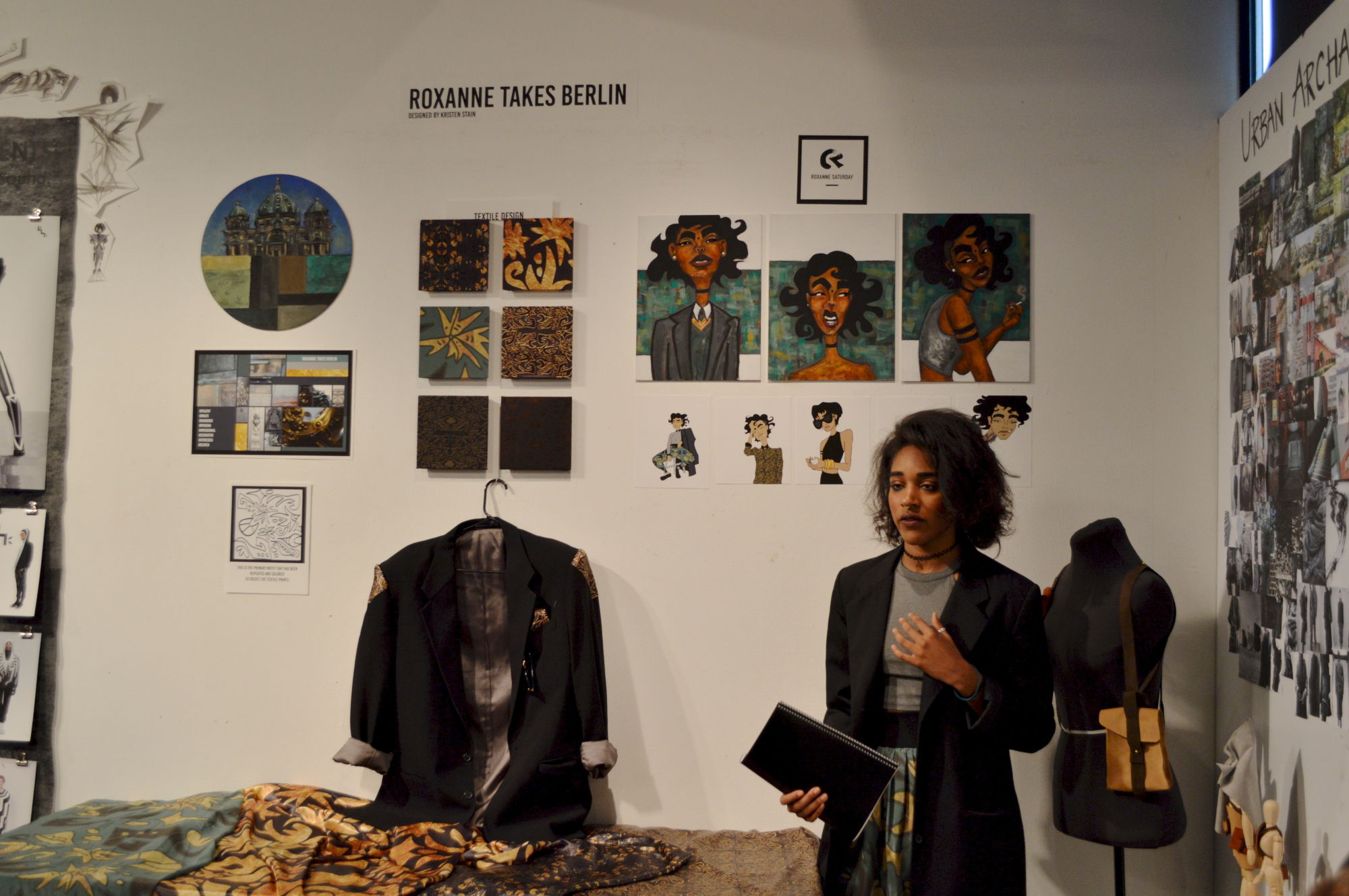 Kristen Stain – Roxanne Takes Berlin – Textile Design
