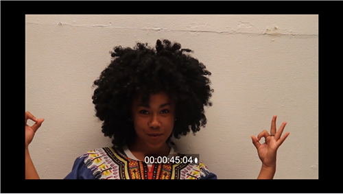 Still from film workshop video