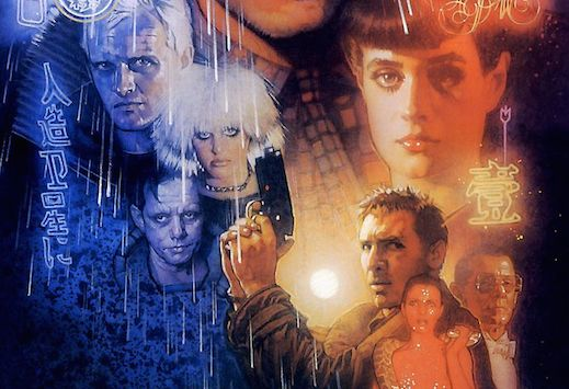 Blade Runner: The Final Cut poster by Drew Struzan. Image courtesy Warner Bros.