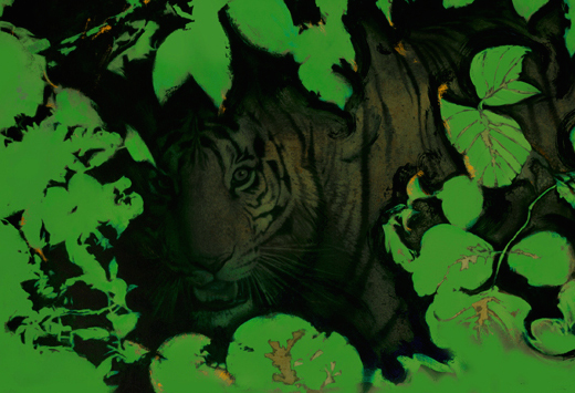 Green Jungle (2000) by Drew Struzan. Image courtesy Drew Struzan