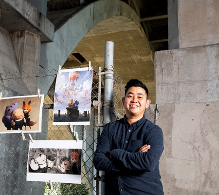 Alumnus Robert Kondo, co-director of Tonko House's short The Dam Keeper. Photo: Jennie Warren