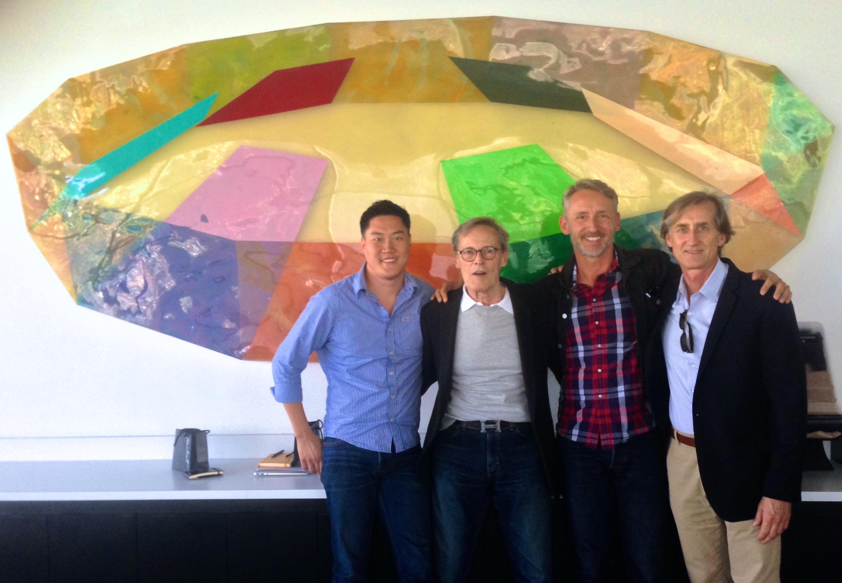 Steve Kim, Paul Hauge, Nik Hafermaas, Steve Sieler. Photo courtesy Nik Hafermaas